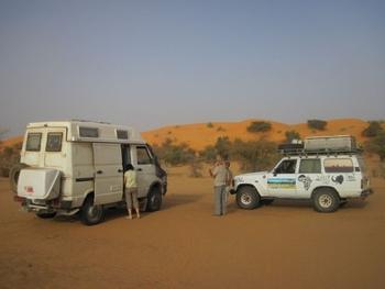 mauritanie piste kiffa kayes premier bivouac 1