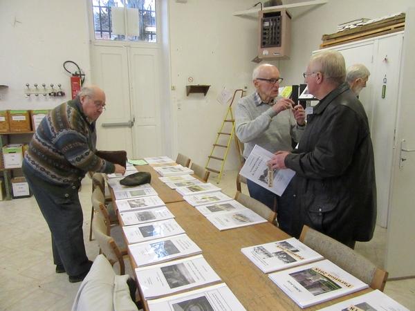 Les Amis du châtillonnais ont ouvert leur local aux amoureux de l'histoire locale