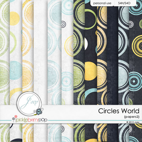 CIRCLES WORLD by JOEY