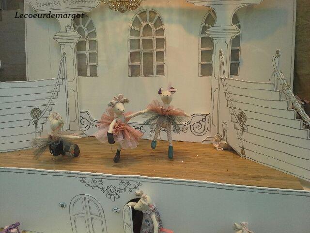 L'opéra de Paris en vitrine
