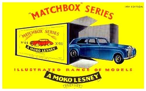 Les voitures Matchbox - 1952