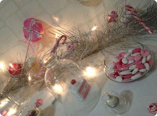 "Vitrine de Noël ""Féeries & Gourmandises"""