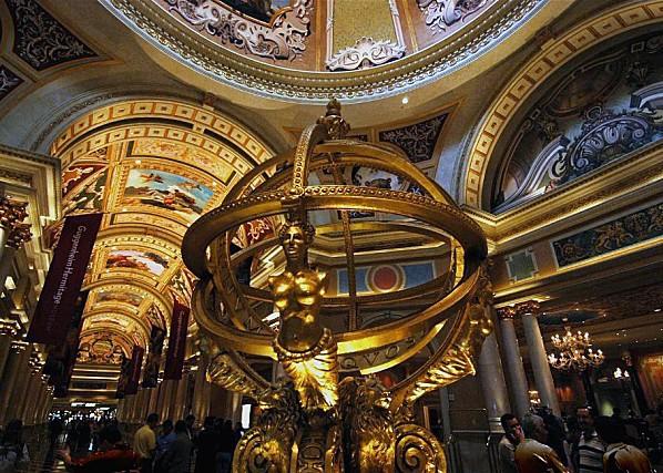 Las Vegas Venetian Hall d'entrée