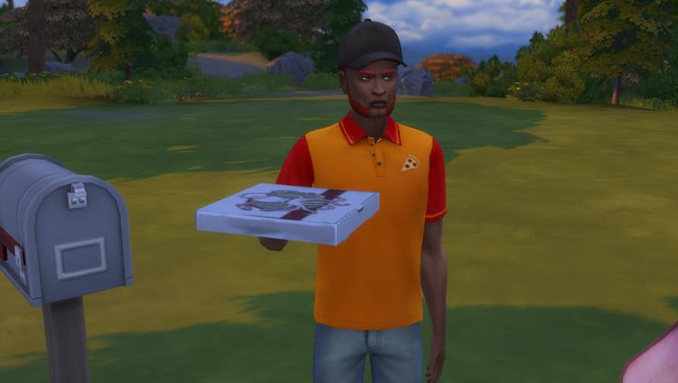 La maison (épisode 2 Une nouvelle vie) Histoire de Sims 4