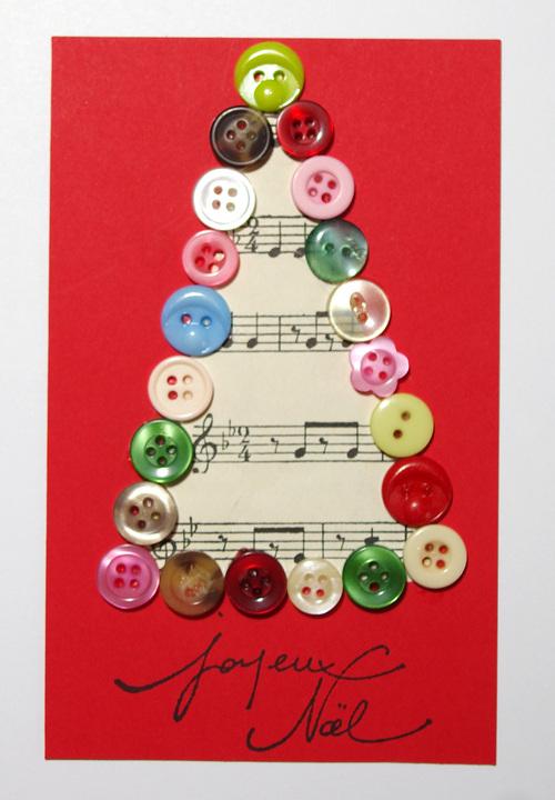 Carte de joyeux noël n°1