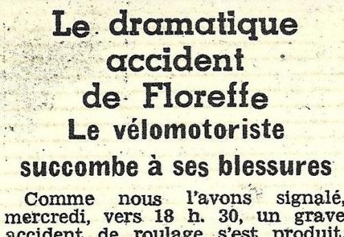 11. Gilbert, victime de la route (1963)