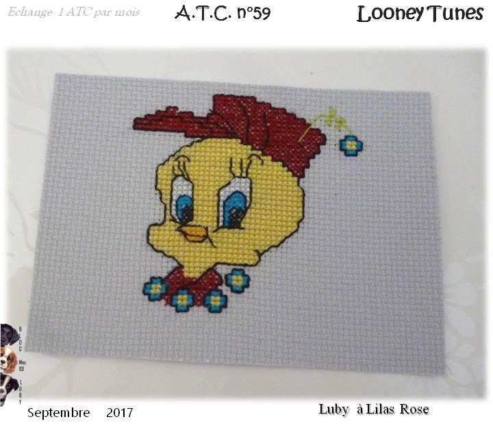 "ATC ""Looneys Tunes"" - Ronde n° 1"