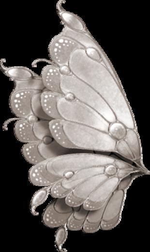 """Thème : Les ailes - Tubes ailes """"papillons"""" fermés"""