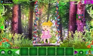 Jouer à Fantasy flower kid escape