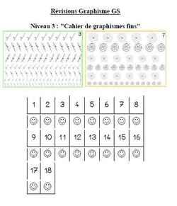 Suivi le classeur des graphismes fins GS