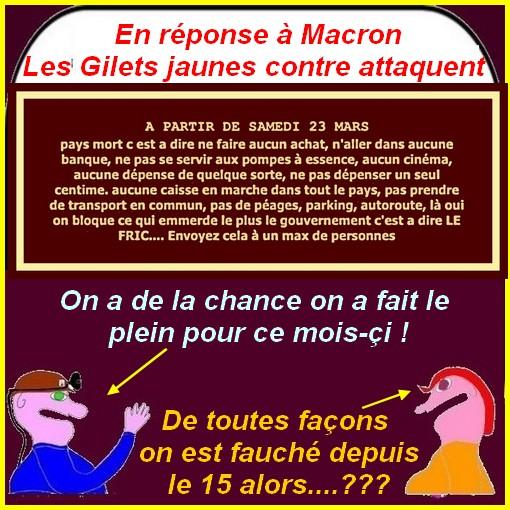 Les Macron, l'Europe, Benalla,etc.. ce sont les infos du poissonnier