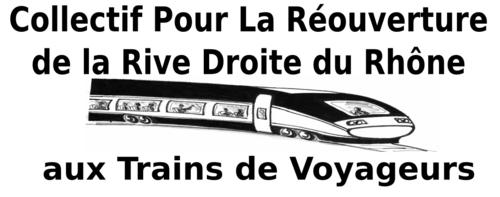 Réouverture de la rive droite du Rhône aux trains de voyageurs
