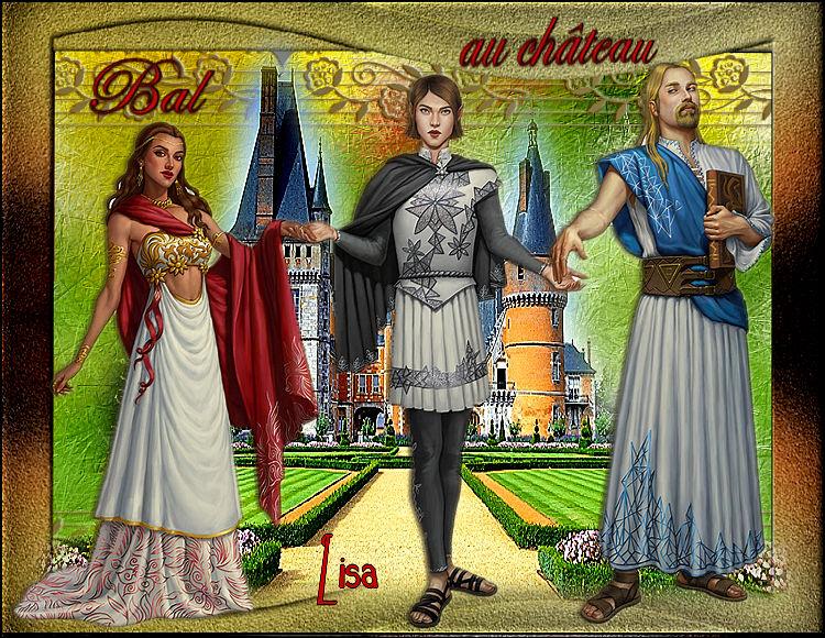 """Défi 5 """"Bal au Château"""