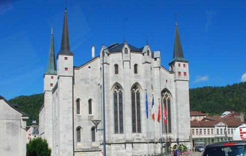 Cathédrale St Pierre:Sr Paul :St André à St Claude