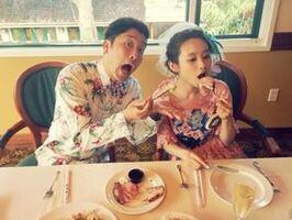 Aika a Hawaii pour le mariage d'Ai Takahashi !
