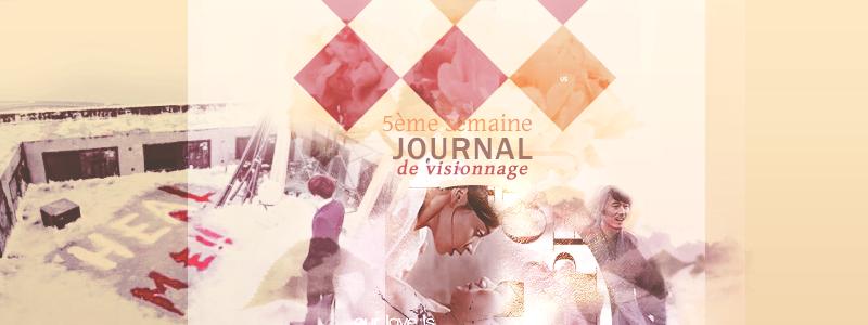 Journal de Visionnage / 5ème semaine