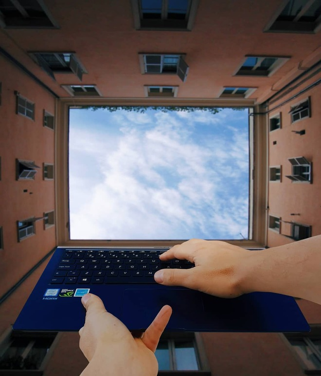 forced perspective photography computer