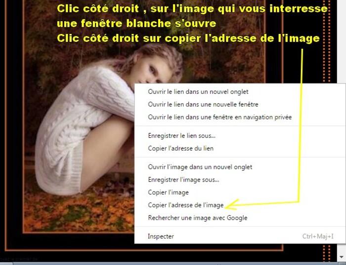 Capture d'ecran pour poster des images .