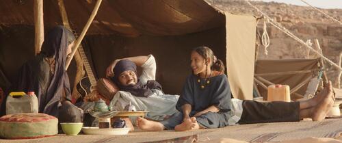 Kidane et sa famille sous la tente