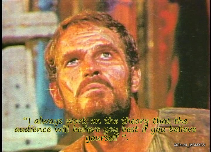LES CITATIONS DE CHARLTON HESTON