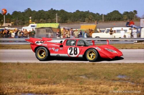 """Ferrari 512 S """"Solido"""" 1/43ème."""