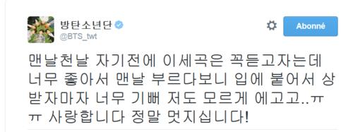 V [BTS] sous le feu des critiques des internautes