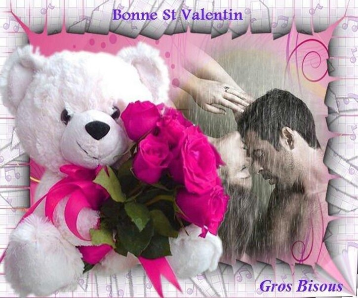 Belle Saint Valentin love you