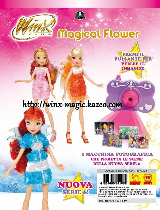 Winx Magical Flower