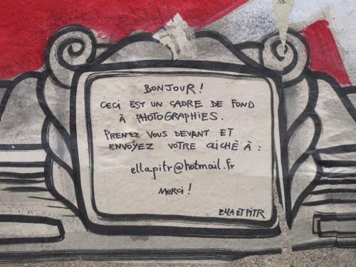 Pitr Beaubourg street-art cadre 1
