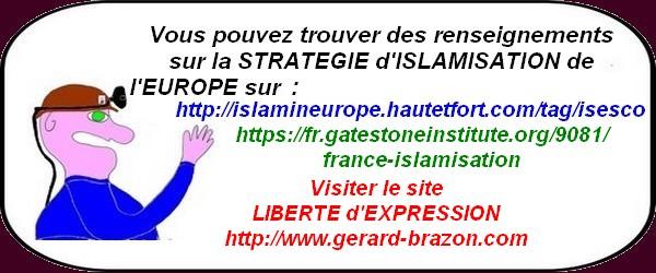 Nos dirigeants nous ont caché la bombe à retardement du 21ème siècle qu'est l'islamisation de l'Europe!