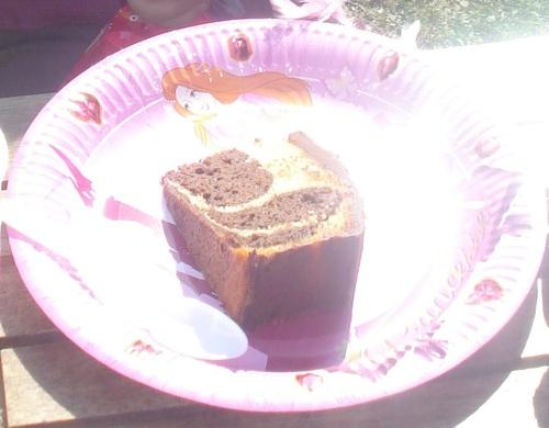 Le Cake aux Yaourts Marbré