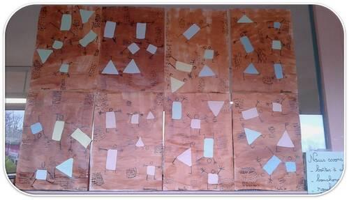 A la manière de Paul Klee: la danse de la peur