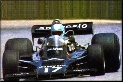 Shadow Racing Team - Shadow DN5B - Ford Cosworth DFV V8 3.0