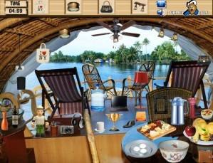 Boat house - Hidden objects