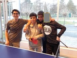 Photos des participants à l'AS Tennis de Table  2016