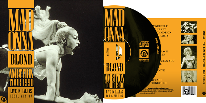 The Blond Ambition Tour - Live in Dallas - 1990 05 07