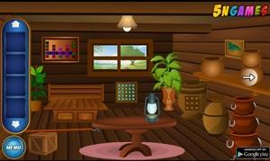 Jouer à Escape Game - Wooden house escape
