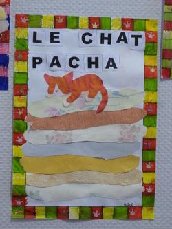 Galette des rois et Pacha le chat