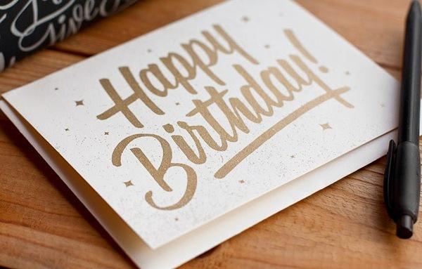 Tuyển tập những chiếc thiệp mừng sinh nhật đẹp nhất