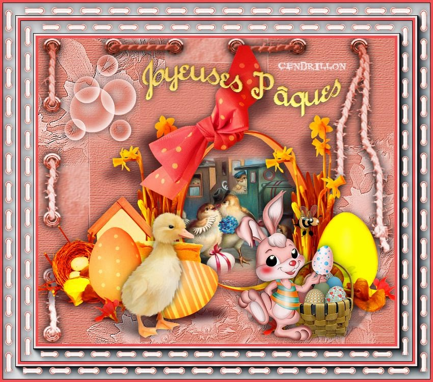 Joyeuses Pâques 2014 - Creation Jeannine
