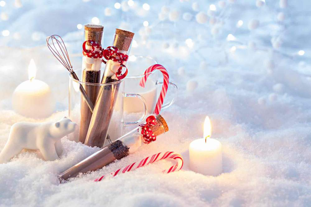 Des kits pour chocolat chaud à offrir