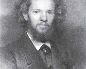 Portrait of the Artist Johann Gottlieb Wenig - Ivan Kramskoy