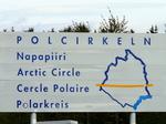 Nous passons le cercle polaire