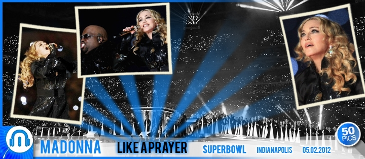 Madonna SuperBowl Like A Prayer