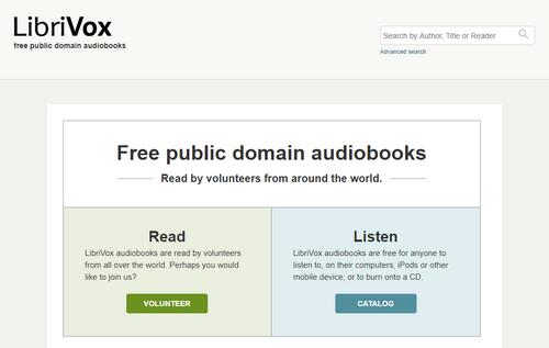 Site de livres audio gratuit