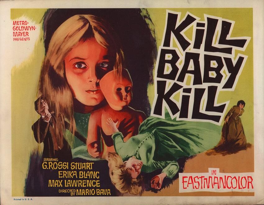 KILL BABY KILL BOX OFFICE 1968