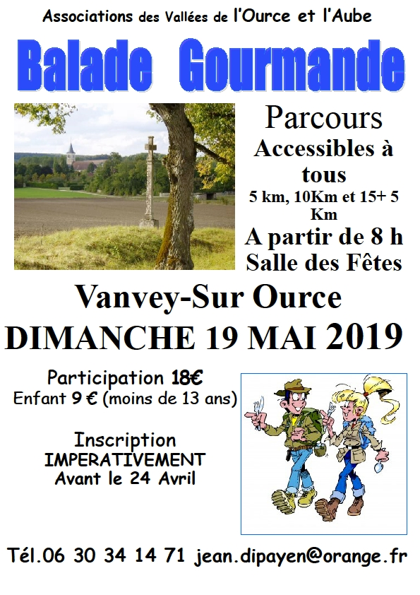 "La ""Balade Gourmande 2019"
