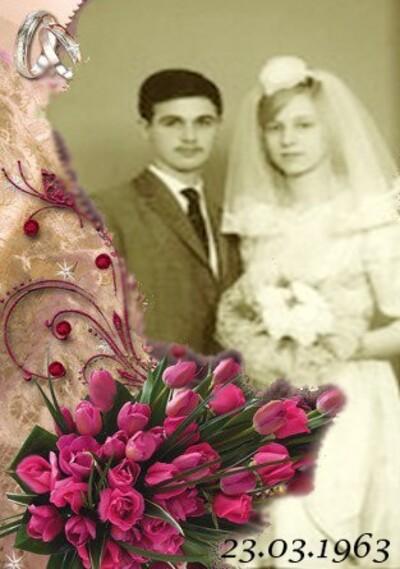 LE 23 MARS 2020 NOUS ARIONS FETE NOS 57 ANS DE MARIAGE