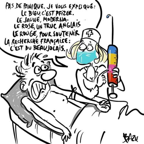 Le peur s'abat sur la France , BRRR