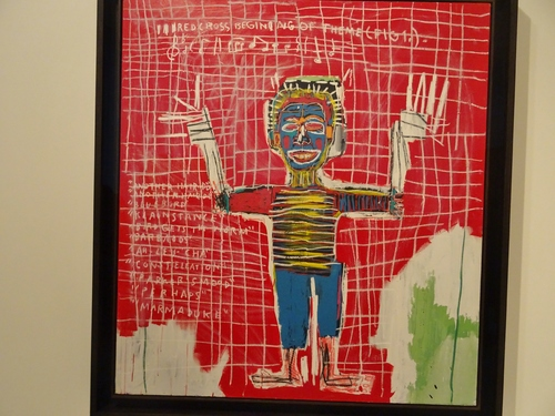 Basquiat à la Fondation Vuitton: suite de la découverte (photos)